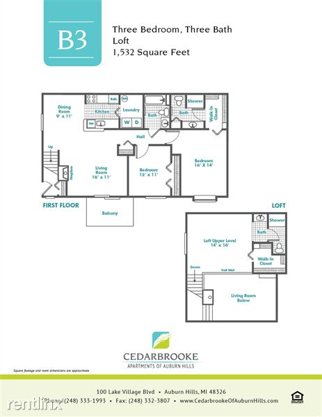 Cedarbrooke FloorPlan InsertB3