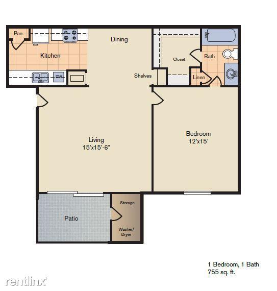 1-1 floorplan