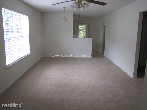 Living/Dining Area with kitchen