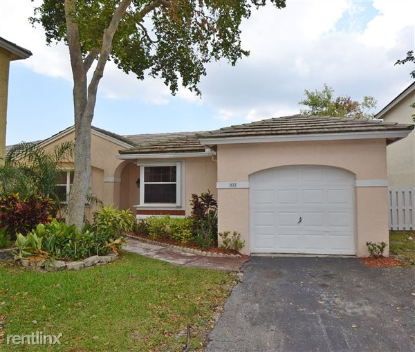 833 Nw 99th Ave, Plantation, FL