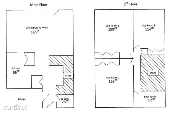 3 Bedroom Home Floorplan