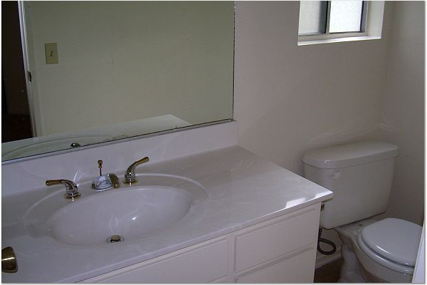 Powder Room on Main Floor