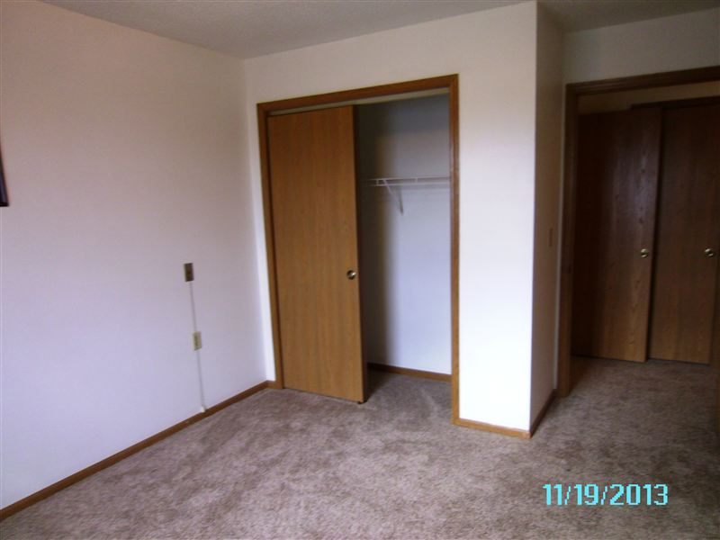 Large Closet in Bedroom for clothing and storage.