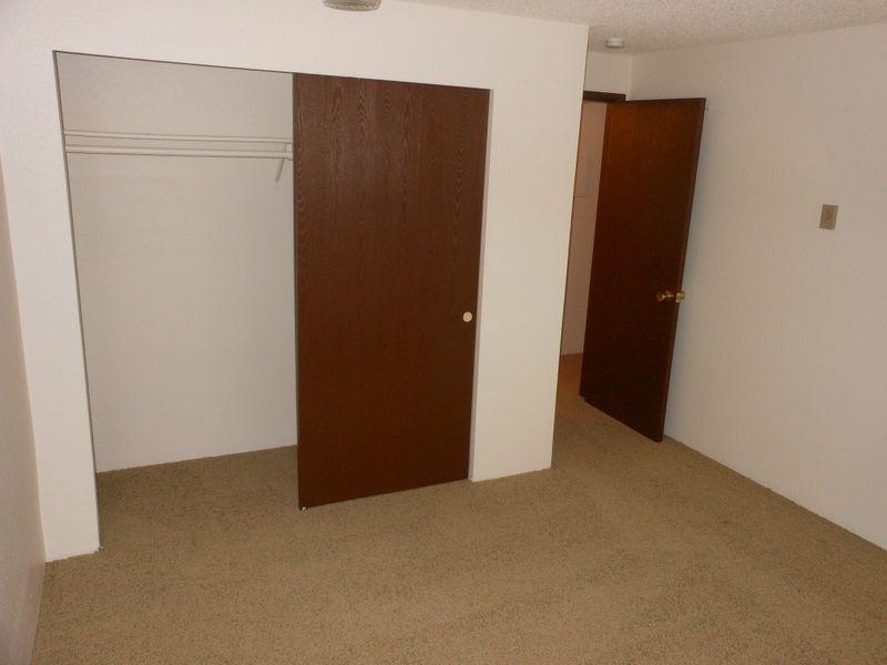 Similar home 104A bedroom closet